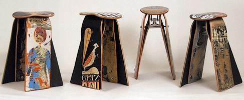 Для тех, для кого скейт это неотъемлемая часть жизни, такие стулья из...